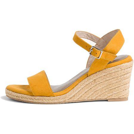 Tamaris Női szandál 1-1-28300-24-684 Mustard (Méret 38)