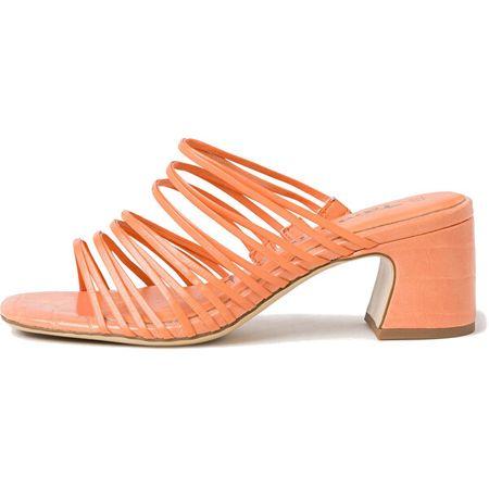 Tamaris Női papucs 1-1-27234-34-673 Peach Neon (Méret 37)