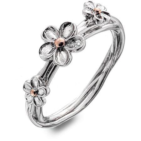 Hot Diamonds Ezüst virág gyűrű Forget me not DR214 (Kerület 56 mm) ezüst 925/1000