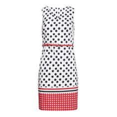Smashed Lemon Dámské šaty 20026 Black-White/Red