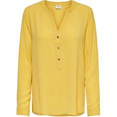 Jacqueline de Yong Női blúz JDYTRACK L/S BLOUSE WVN NOOS Misted Yellow