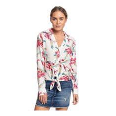 Roxy Dámská košile The Lover Side Snow White Tropic Call ERJWT03383-WBK7
