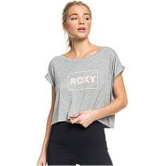 Roxy Dámské triko Empty Streets Tee Heritage Heather ERJZT04791-SGRH
