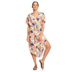 Roxy Dámské šaty Flamingo Shades Peach Blush Bright Skies ERJWD03428-MDT8
