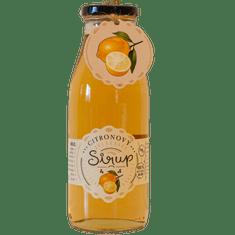 Slaskoukjidlu.cz Citronový sirup - tekuté ovoce v lahvi
