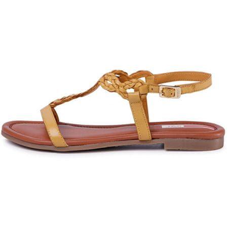 s.Oliver Ženske sandale Yellow 5-5-28106-24-600 (Velikost 38)