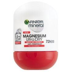 Garnier Antyperspiracyjny roll-on dla kobiet z magnezem (Magnesium Ultra Dry) 50 ml