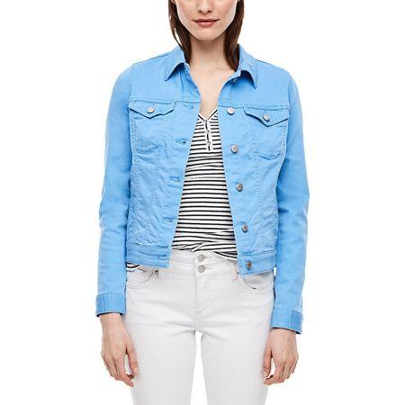 s.Oliver Ženska jakna 14.003.51.2496 .55Z8 Blue denim stretch (Velikost 34)