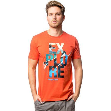Heavy Tools Moška majica Marda coral C3S20306CL (Velikost XL)