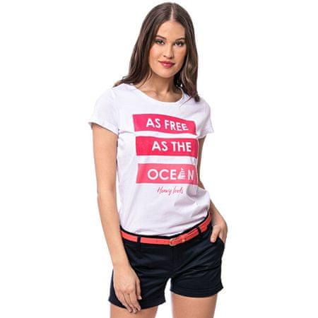 Heavy Tools Ženska majica Myran bela C4S20288WH (Velikost L)