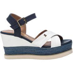 Refresh Dámské sandále White Textile Ladies Sandals 69595 White