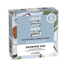 Love Beauty & Planet Szampon w postaci stałej z wodą kokosową i kwiatami mimozy (Shampoo Bar) 90 g