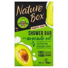 Nature Box Tuhé sprchové mydlo Avocado Oil (Shower Bar) 150 g