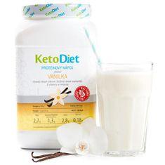 KetoDiet Proteinový nápoj příchuť vanilka 35 porcí