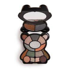 I Heart Revolution Paletka očních stínů Teddy Bear Jett (Shadow Palette) 14,4 g