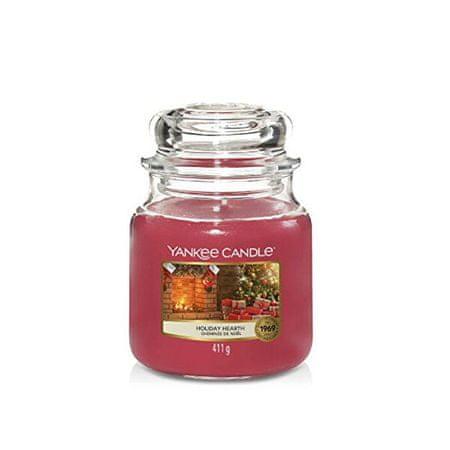 Yankee Candle IllatgyertyaClassic Holiday Hearth 411 g - közepes