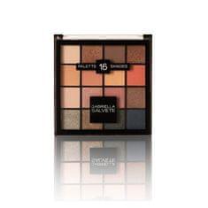 Gabriella Salvete Paletka 16 očných tieňov Palette 16 Shades 20,8 g