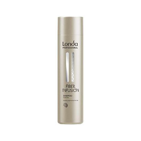 Londa Szampon regenerujący keratynę do Fiber Infusion zniszczonych Fiber Infusion włosów (Shampoo) (objętość 250 ml)