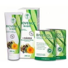 Biomedica Biovenol krém 200 ml + Bivenol micro 20 tablet