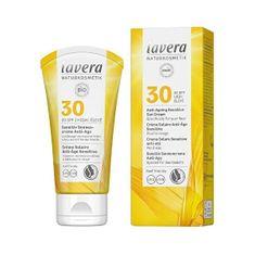Lavera Opalovací krém Sensitiv SPF 30 (Anti-Ageing Sensitive Sun Cream) 50 ml