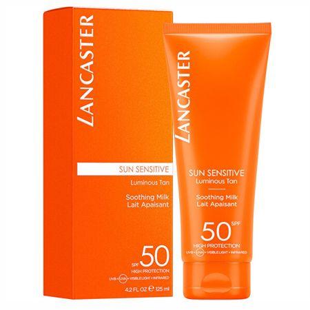 Lancaster Balsam do opalania do skóry wrażliwej SPF 50 Sun Sensi tiv e (Softening Milk) 125 ml