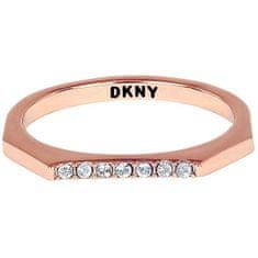 DKNY Stylový oktagonový prsten Charakter 5548761