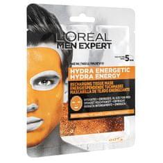 Loreal Paris Textilné hydratačná maska pre mužov Men Expert Hydra Energetic 32 g