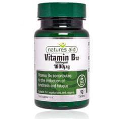 Natures Aid Vitamín B12 - 1000 mcg - sublingválne 90 tabliet