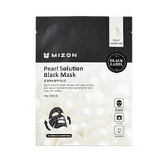 MIZON Rozjasňujúce maska s výťažkami z perál (Pearl Solution Black Mask) 25 g