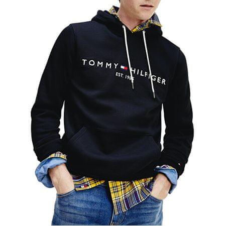 Tommy Hilfiger Bluza męska MW0MW10752 -BAS (Rozmiar S)