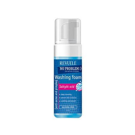Revuele Pianka do Mycia Twarzy No Problem (Washing Foam Anti-Acne & Pimples With Salicylic Acid) 150 ml