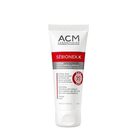 ACM Sébionex K (Keratoregulating Cream) 40 ml AHA-sav tartalmú keratoregulációs krém problémás bőrre
