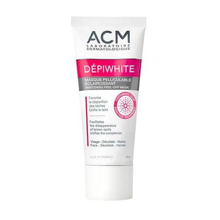 ACM Dépiwhite (Whitening Peel-Off Mask) 40 ml világosító, lehúzható arcmaszk