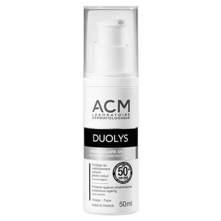 ACM SPF 50+ Duolys (Anti-Ageing Sunscreen Cream) 50 ml öregedésgátló bőrvédő krém