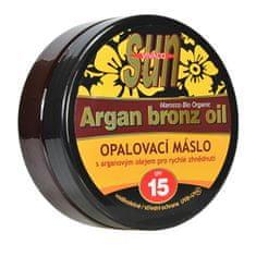 Sun Vital opalovací máslo Argan bronz oil OF 15 200 ml