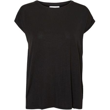 Vero Moda Ženska majica VMAVA 10187159 Black (Velikost XS)