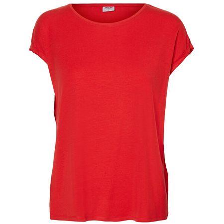 Vero Moda Női póló VMAVA 10187159 Goji Berry (méret XS)