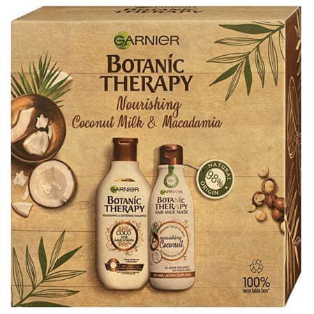 Garnier Kozmetikai szett száraz és rakoncátlan hajra Botanic Therapy