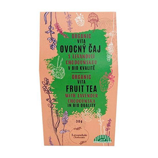 Levandulové údolí BIO Vitafruit sypaný čaj s Levandulí Chodouňskou 30 g