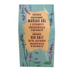 Levandulové údolí BIO Hrubozrnná morská soľ s BIO Levanduľou Chodouňskou 80 g