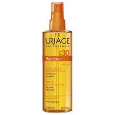 Uriage Suchý olej na opaľovanie v spreji SPF 30 Bariésun (Dry Oil High Protection) 200 ml