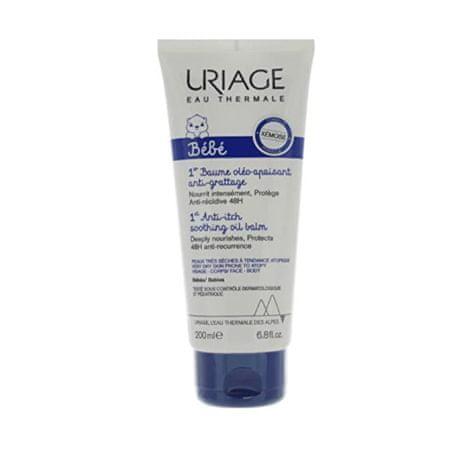 Uriage Blažilni balzam Bébé za suho do (Antiitch Soothing Oil Balm) kožo (Objem 200 ml)