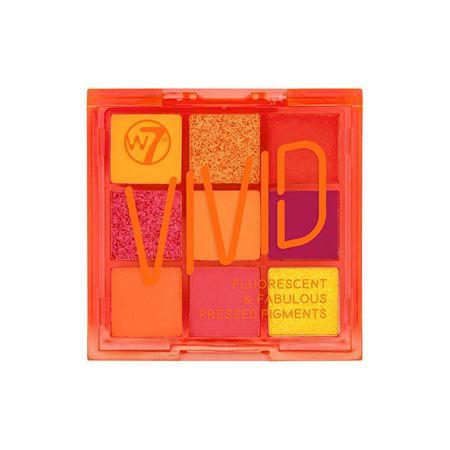 Szemhéjfesték paletta Vivid (Eya Color Palette) 9 g (Árnyék Outrageous Orange)