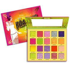 Rude Cosmetics Paletka 20 očních stínů The Roaring 20`s Neons (Eyeshadow Palette) 30 g