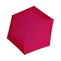 Doppler Damskiskładany parasol Hit Mini Flat Dots 722565PD02