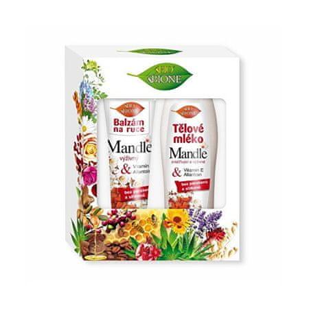 Bione Cosmetics Mandle testápoló ajándék készlet