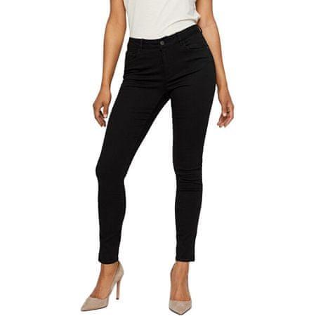 Vero Moda Ženske kavbojke slim fit VMSEVEN 10202102 Black (Velikost XS/32)