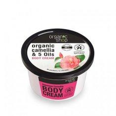 Organic Shop Tělo vý krém Japonská kamélie ( Body Cream) 250 ml