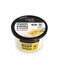 Organic Shop Tělo vá pena burbónská vanilka ( Body Mousse) 250 ml