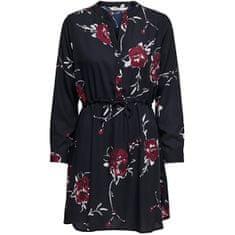 ONLY Dámske šaty ONLCORY 15200543 Night Sky LULU BIG FLOWER